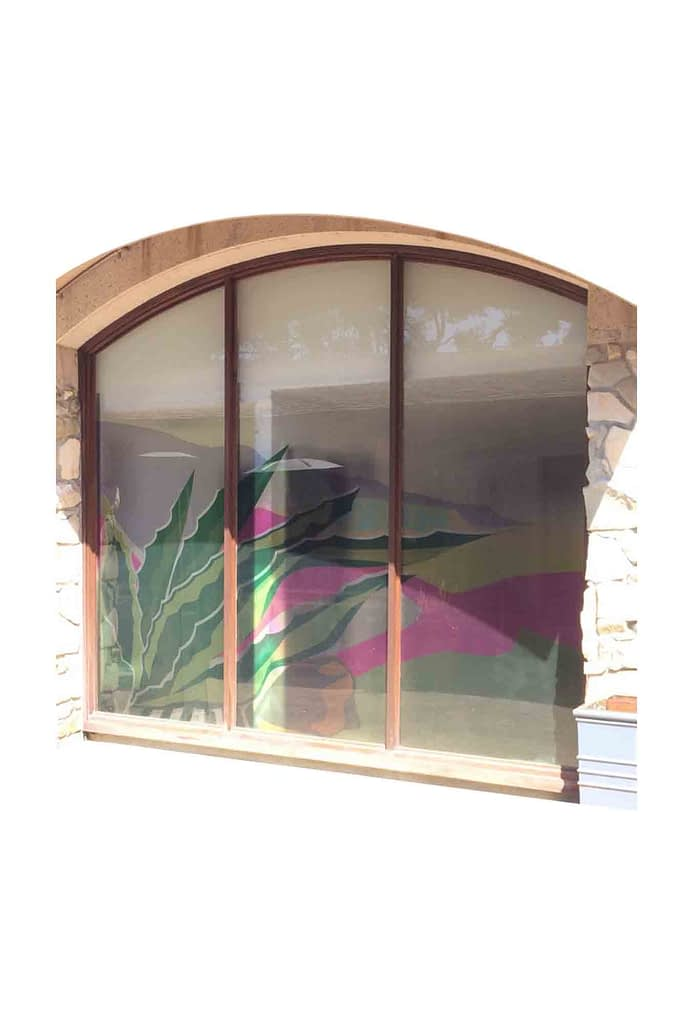 Window Perforated Material